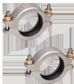 Meibes G комплект подключения насосных групп FL-UK/MK к отопительному контуру (2 шт) Victaulic - Victaulic Ду 50. Артикул (66259.31)