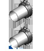 Meibes G Комплект подключения насосных групп FL-UK/MK к отопительному контуру (2 шт) Victaulic - под сварку Ду 65. Артикул (66259.47)