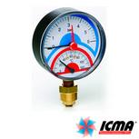 Термоманометры и манометры ICMA