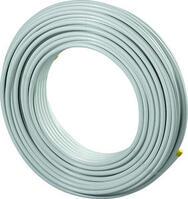 Uponor MLC металлопластиковая труба белая 20х2,25 в бухтах по 200 м, артикул 1013392