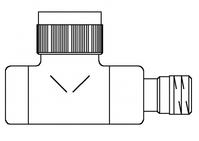 """Вентиль (термостатический клапан) Oventrop серия E (эксклюзивная) прямой Ду15 1/2"""", артикул 1163142, цвет никелированный"""