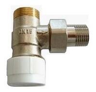 """Вентиль (термостатический клапан) Oventrop AV6 с преднастройкой угловой Ду15 3/4""""х1/2"""", артикул 1183797"""