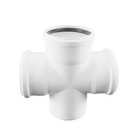 Крестовина REHAU RAUPIANO PLUS 110/110/110/87°, для канализационных труб, арт. 11215541001