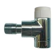 """Вентиль (термостатический клапан) Oventrop серия E (эксклюзивная) угловой Ду15 1/2"""", артикул 1163052, цвет хромированный"""