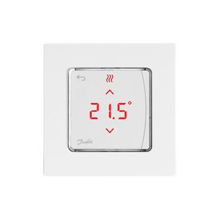 Danfoss Icon™ сенсорный комнатный термостат, 230 Вт, встраиваемый, 088U1010