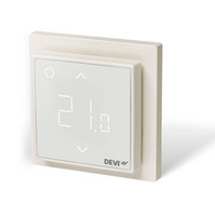 Терморегулятор DEVI DEVIreg™ Smart интеллектуальный с Wi-Fi, белый, 16А (140F1141)