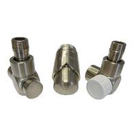 Комплект термостатический SCHLOSSER Exclusive 6017, осевой правый сталь, для пластиковой трубы GZ 1/2 х 16х2, арт. 601700123