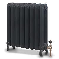 Чугунный радиатор EXEMET Detroit 650/500 (1 секция), межцентровое расстояние 500 мм