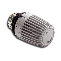 Heimeier Термостатическая головка К, Стандартная, 6-28°C, настройки 1-5, RAL7035 светло-серый, 6000-00.504