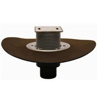 Трап HL для внутренних помещений с решеткой в подрамнике, с полимербитумным гидроизоляционным полотном HL310NHPr-3000