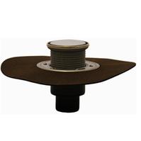 Трап HL для внутренних помещений с решеткой в подрамнике, с полимербитумным гидроизоляционным полотном HL310NHPrR