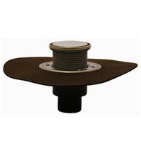 Трап HL для внутренних помещений с решеткой в подрамнике, с полимербитумным гидроизоляционным полотном HL310NHR