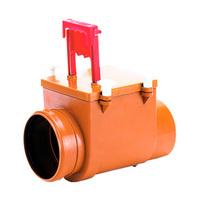 Механический канализационный затвор HL для вертикального монтажа с запирающей заслонкой, HL710.1