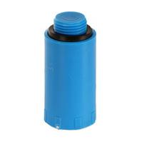 """Водопроводная пробка-заглушка HL синего цвета (пластик), 1/2"""" Н, HL42.B"""