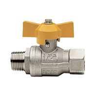 Itap BERLIN 073 1/2 Кран шаровый муфта/резьба для газа полнопроходной (бабочка), 26083