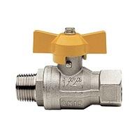 Itap BERLIN 073 3/4 Кран шаровый муфта/резьба для газа полнопроходной (бабочка), 26084