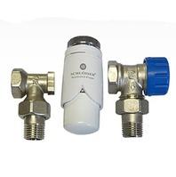 Комплект Standard 6022 угловой SCHLOSSER DN15 GZ1/2 x GW1/2 с термоголовой 600200002, арт. 602200003