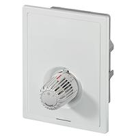 Heimeier встраиваемый индивидуальный регулятор температуры с автоматическим ограничителем расхода для напольного отопления Multibox Eclipse K с термостатическим клапаном, 9318-00.800