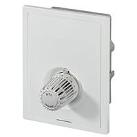 Heimeier встраиваемый индивидуальный регулятор температуры с автоматическим ограничителем расхода для напольного отопления Multibox Eclipse RTL  с ограничителем температуры обратного потока, 9319-00.800