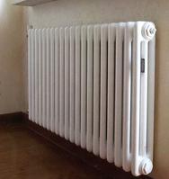 Стальные трубчатые радиаторы ARBONIA, модель 3057, 73 Вт, глубина 105 мм, белый цвет, 1 секция