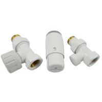 Комплект проходной SCHLOSSER STANDARD MINI Белый DN15 GZ1/2 x GW1/2 с головкой M30x1,5 602200057