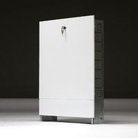 Шкаф распределительный встраиваемый МТК ШРВ-1, для коллектора до 5-ти отводов, 670х125х494