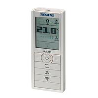 Инфракрасное управление комнатными термостатами Siemens, IRA211