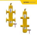 Гидравлическая стрелка с возможность удаления шлама и воздуха SPIROCROSS