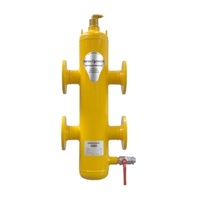 Гидравлический сепаратор Spirocross/фланцевое соединение/сталь 37, артикул XC150F