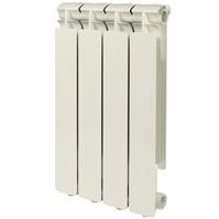 Радиатор алюминиевый STOUT Bravo 350 4 секции, боковое подключение, SRA-0110-035004