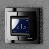 Терморегулятор DEVI Devireg Touch с комбинацией датчиков, черный (арт. 140F1069)