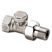 """Heimeier Радиаторный запорно-регулирующий клапан REGUTEC,  DN10(3/8""""), проходной, никелированная бронза, 0356-01.000"""