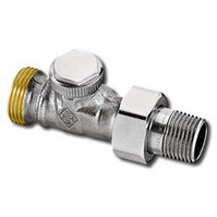 """Heimeier Радиаторный запорно-регулирующий клапан REGUTEC,  DN15(1/2""""), с наружной резьбой G 3/4"""", проходной, никел бронза, 0366-02.000"""