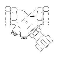 """Запорный вентиль Oventrop """"Hydrocontrol ATR"""" PN16 Ду 10 бронза, Арт. 1067603"""