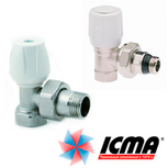 Вентили для ручной регулировки ICMA