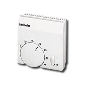 Heimeier Комнатный термостат, для двухпозиционного управления термоклапаном для фанкойлов, только охлаждение, 230 В, белый, 1905-00.500